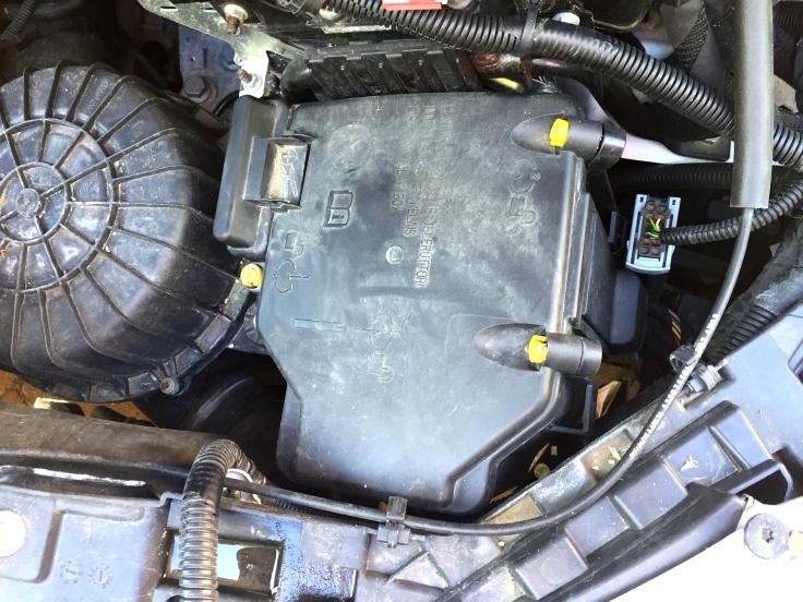 Ducato fuse cover long