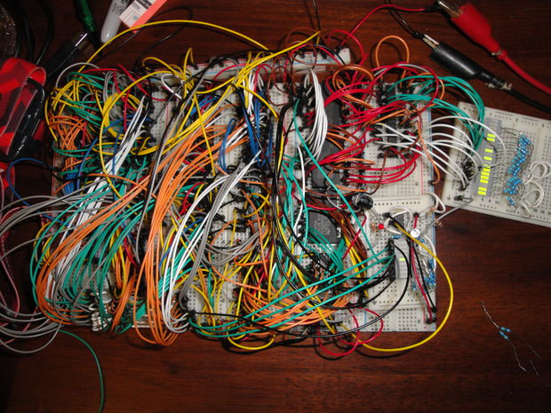 wire mess